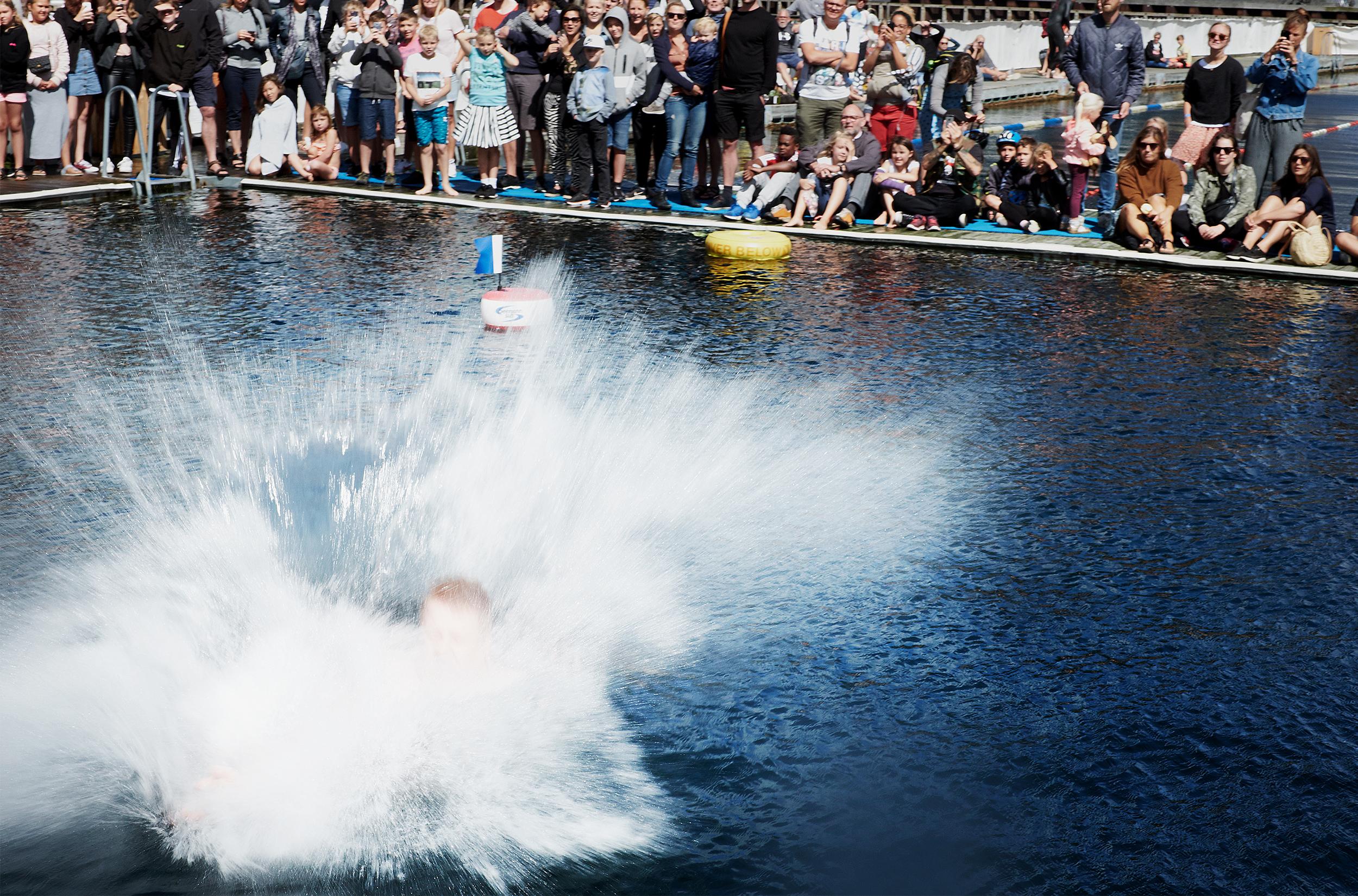 DM i vandbombe / Foto: Lisbeth Johansen