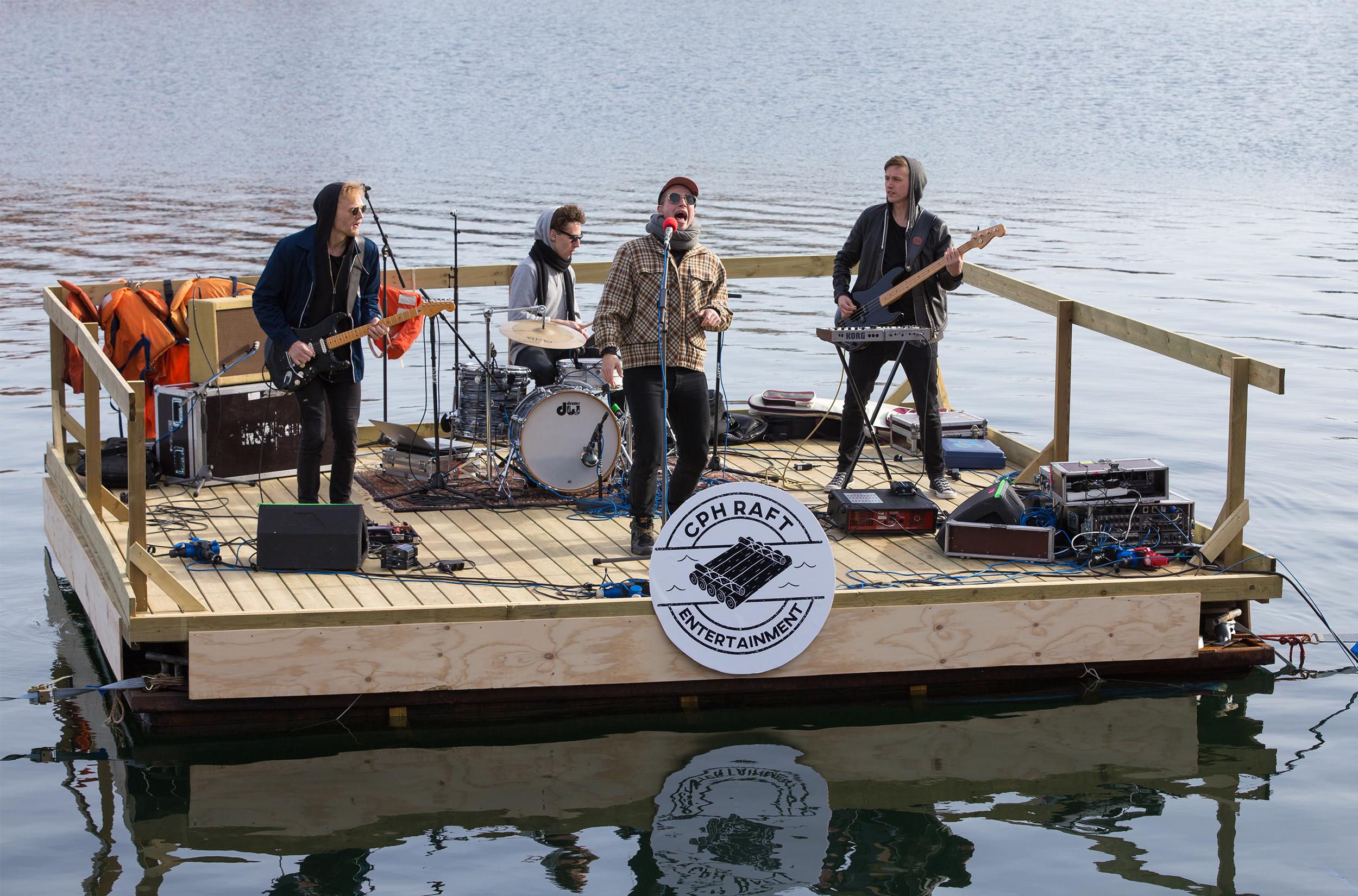 Winter Raft Concert / Foto: Thomas Rousing