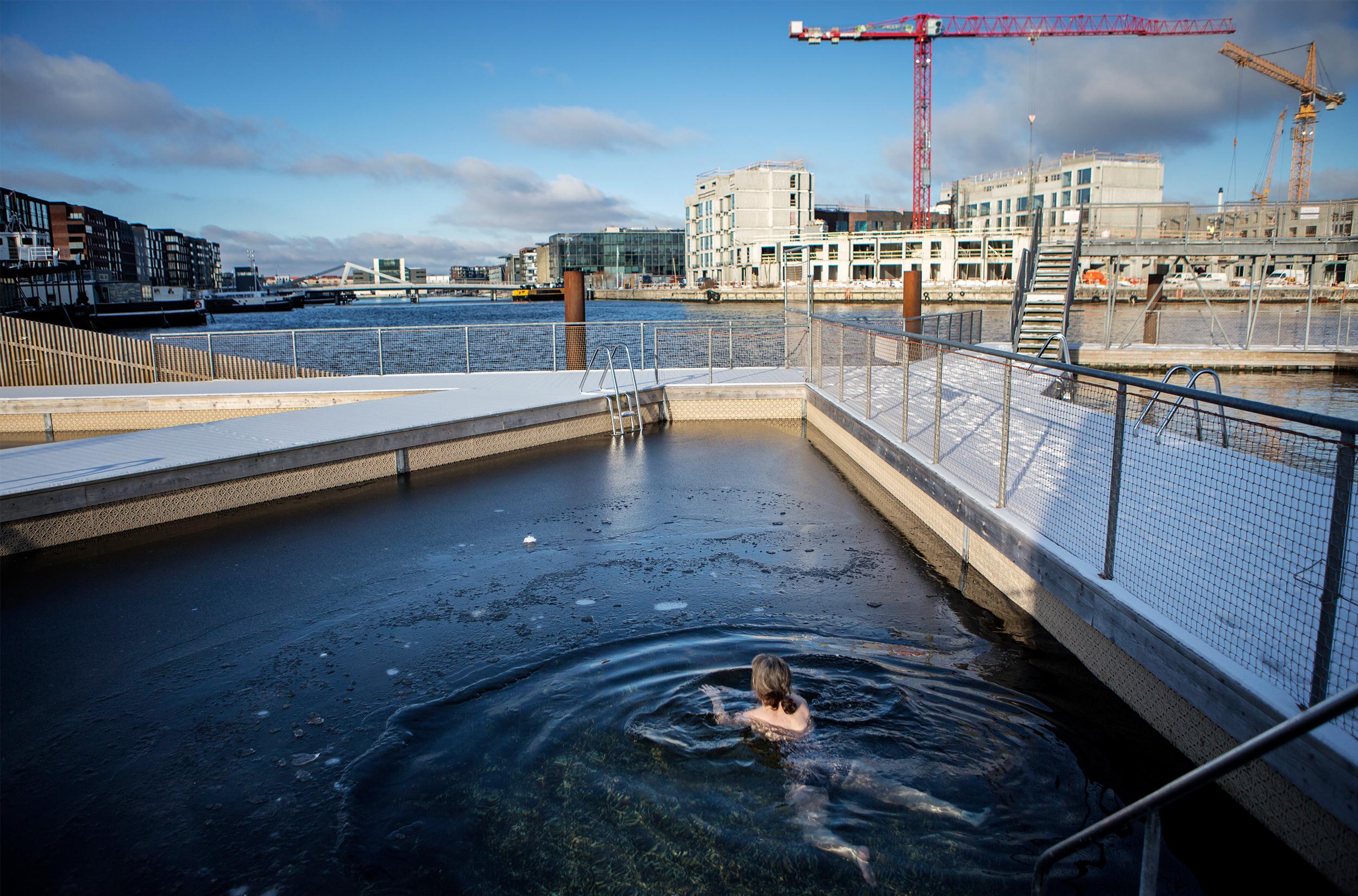 Vinterbadning / Foto: Sofia Busk