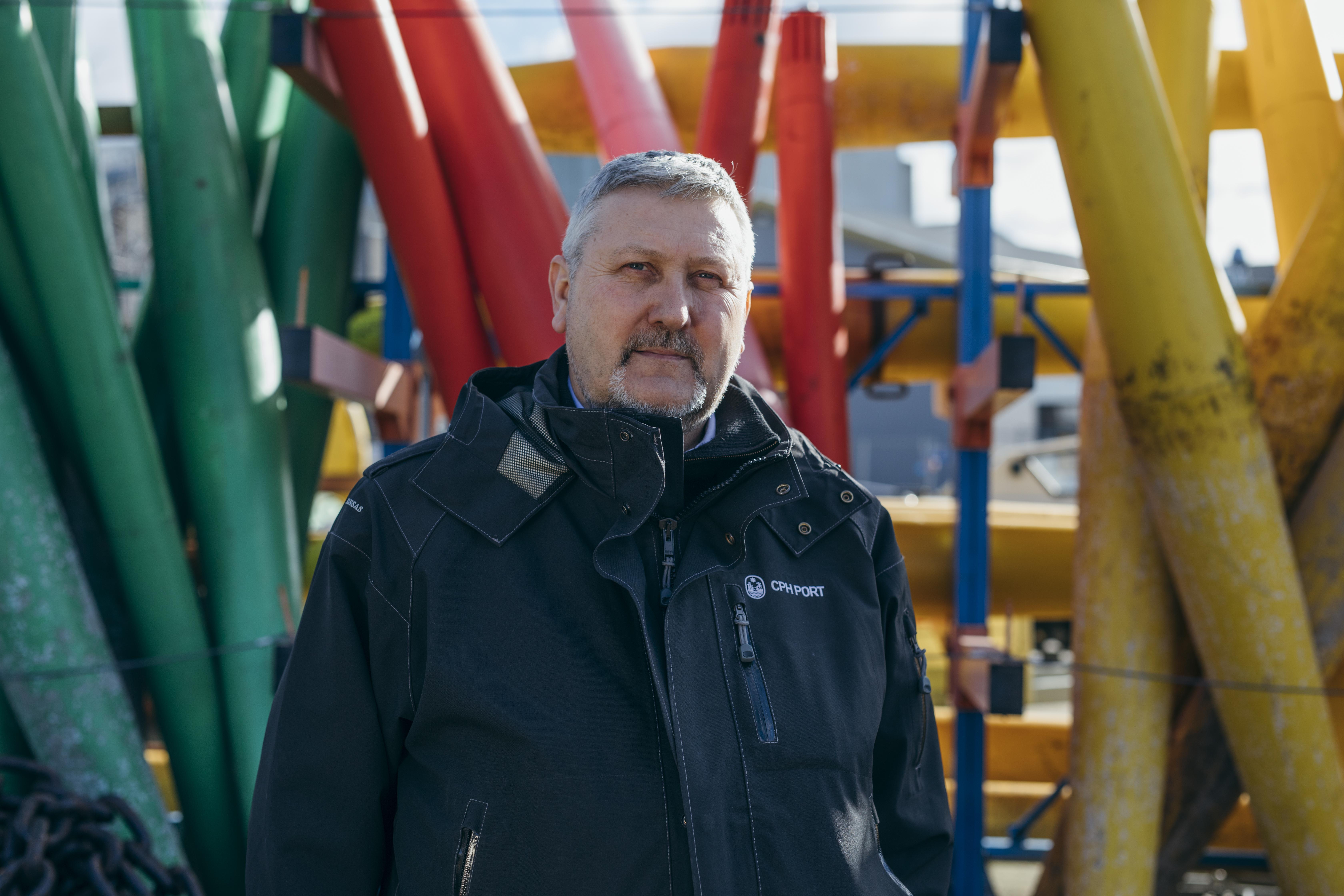 Havnefoged i Københavns Havn Morten Johansen