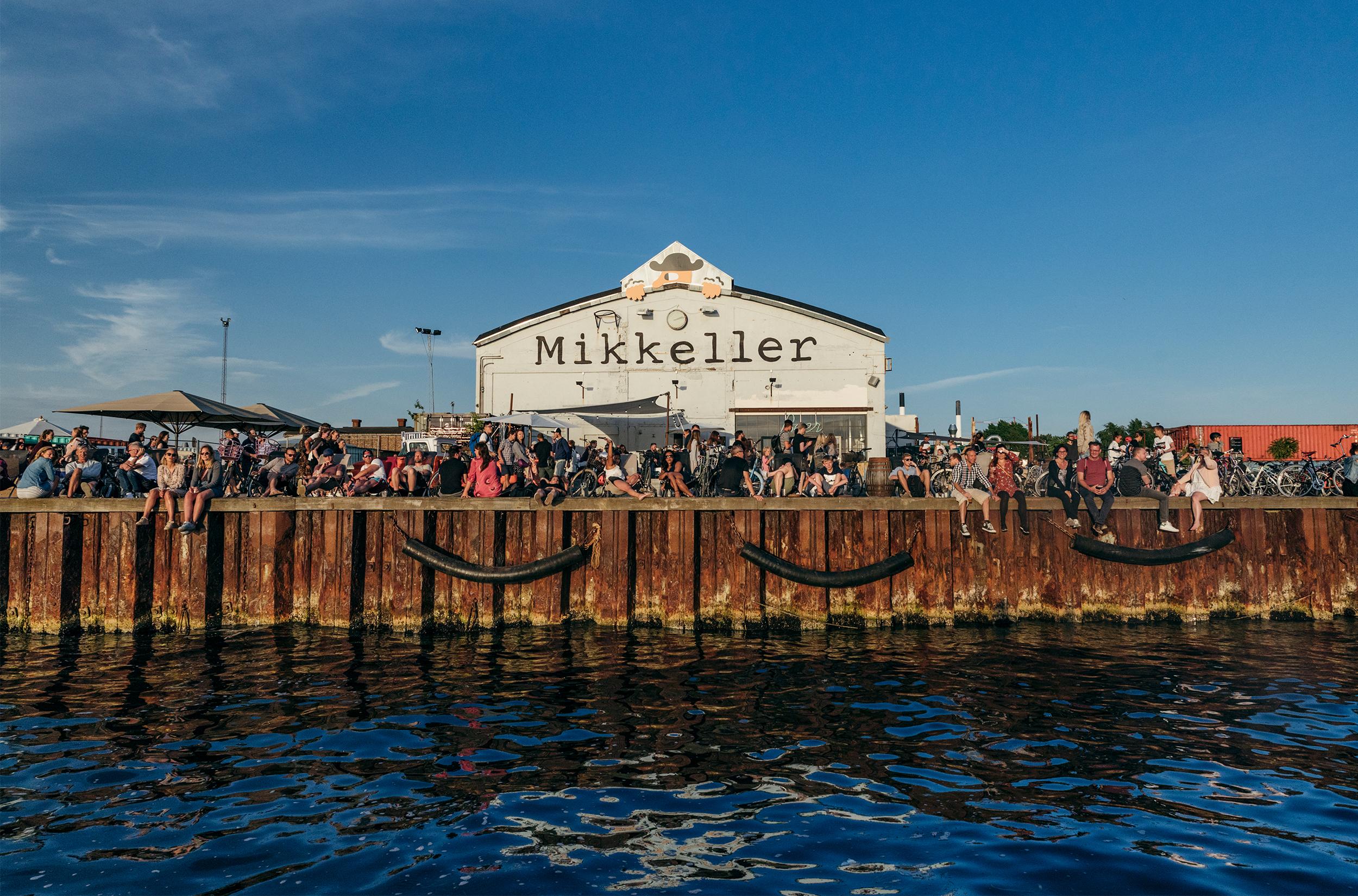 Mikkeler på Refshaleøen / Foto: Andreas Raun Arneberg